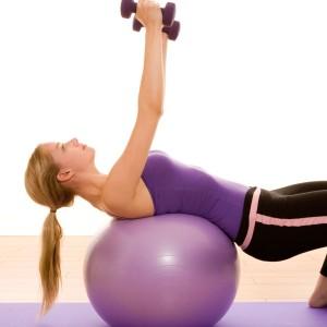 Anti-burst Exercise Ball