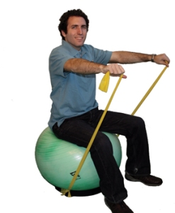 Resistance Band Exercises and Swiss Ball Exercises - The Best Low Cost Gym Equipment?
